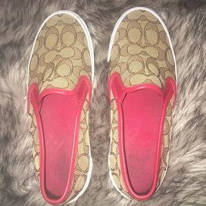 Authentic Coach Shoes size 6